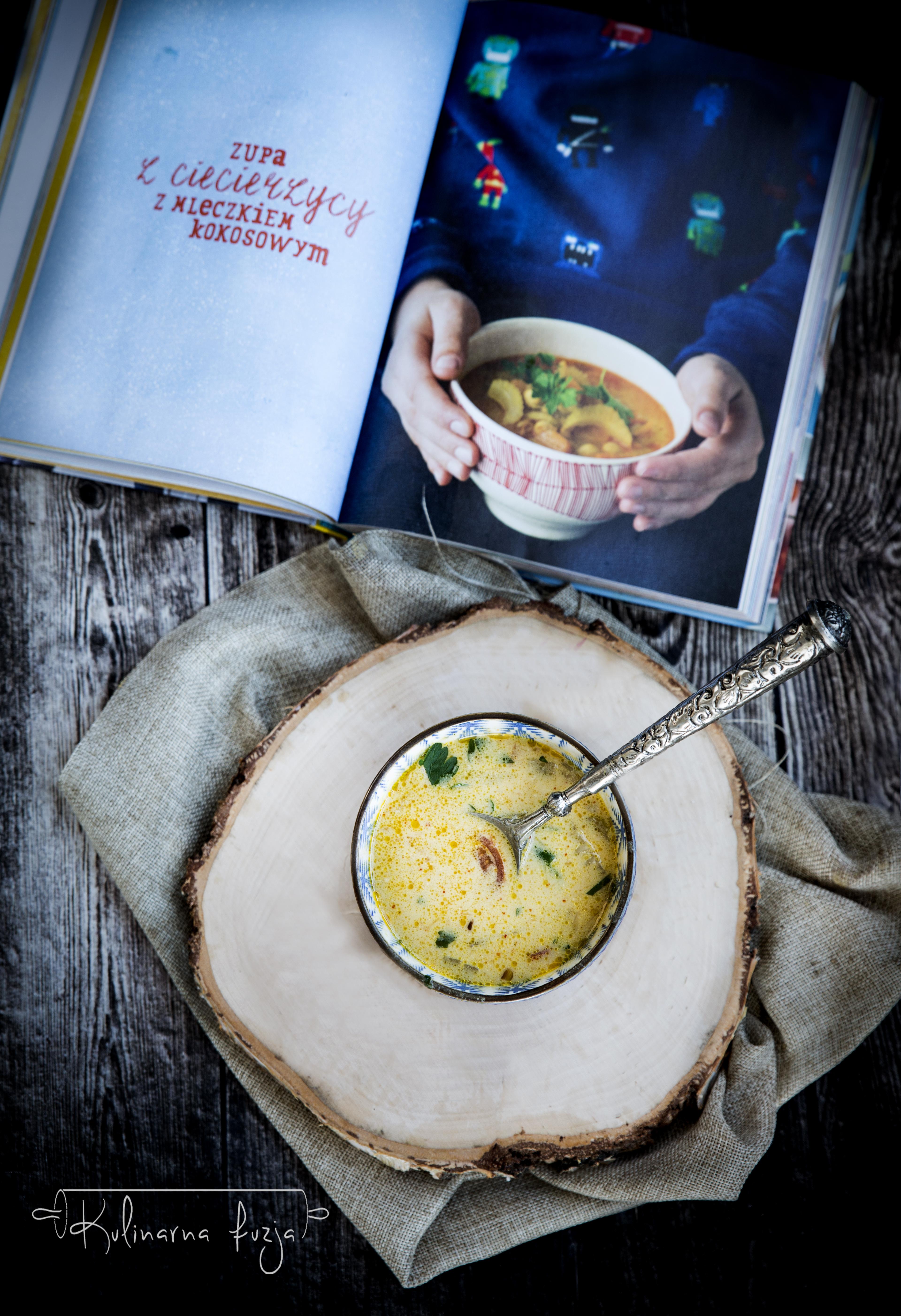 Zupa Curry Z Ciecierzyca I Ksiazka Rodzinne Gotowanie Kulinarna